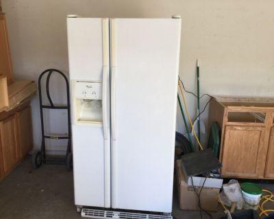 Whirlpool fridge and smooth top stove