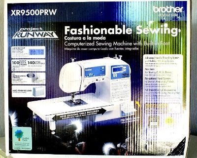 Brand New Brother Computerized Sewing Machine