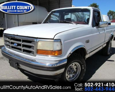 """1994 Ford F-150 117"""" WB 4WD"""
