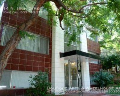 1344 N High St #12, Denver, CO 80218 1 Bedroom Apartment