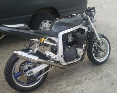 92 Oil Cooled 750 Street Fighter
