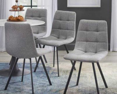 Set of dining chairs (4)