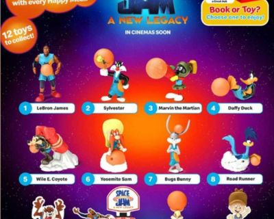 ISO space jam happy meal toys