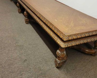 Stunning Long Antique Bench (Over 8ft)