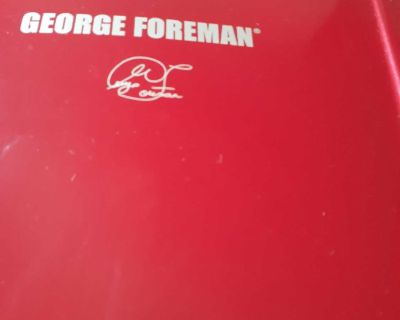 George foreman electric grill and panini press