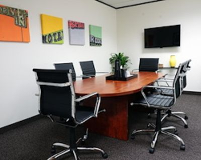 Private Meeting Room for 6 at Executive Workspace @ 777 Main