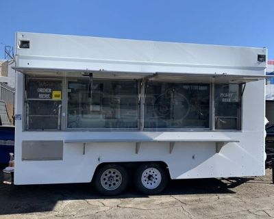 Refurbished 2002 8' x 22' Mobile Kitchen / Permitted Food Concession Trailer