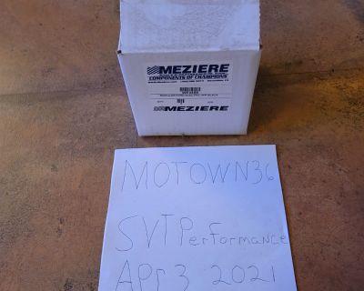 FOR SALE: - MEZIERE Blk Alum HiFlow 300 Series Elec Water Pump Kit Fits Ford Mod PN WP345S