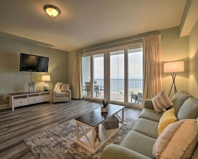 NEW! PCB Resort Condo w/ Beach Access Across St! - Panama City Beach