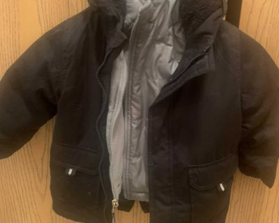 Double lined 3t winter coat