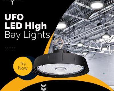 UFO LED High Bay Lights For Warehouse Lighting