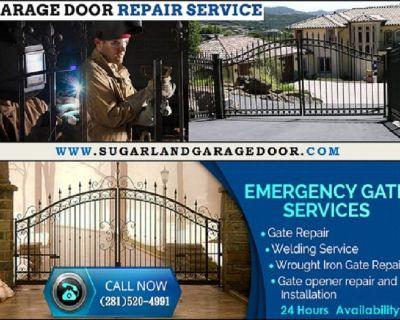 24/7 Available Service for Garage Door Opener Repair $25.95  Sugar Land, 77498 TX