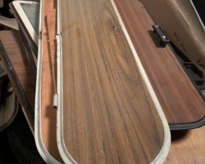 Westfalia camper closet door w/mirror 73-74