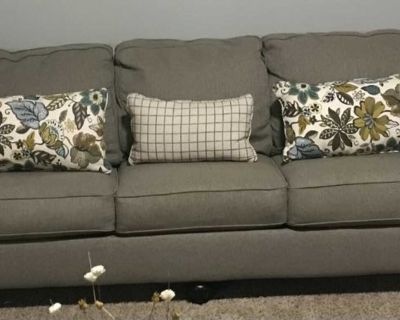 Couch and 2 accent chairs