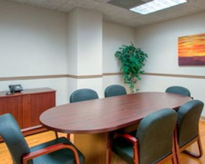 Private Meeting Room for 6 at Peachtree Offices at Lenox, Inc.