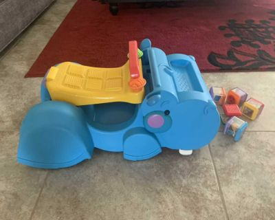 Fisher price gobble and go - guc