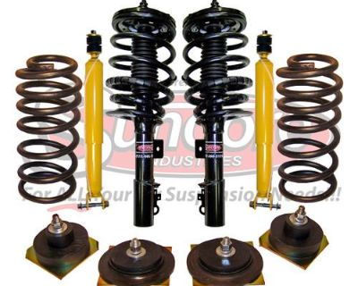 4wheel Suspension Air Bag To Coil Spring Conversion With Rear Gas Shocks Kit