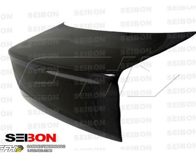 Seibon Carbon Fiber S-style Carbon Fiber Trunk Lid Honda Civic 92-95 Ships From