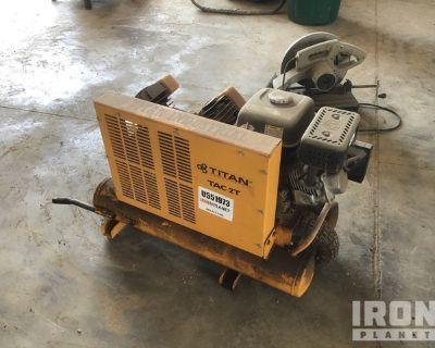 Titan TAC-2T Shop Air Compressor