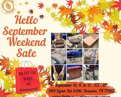 Hello September Weekend Sale
