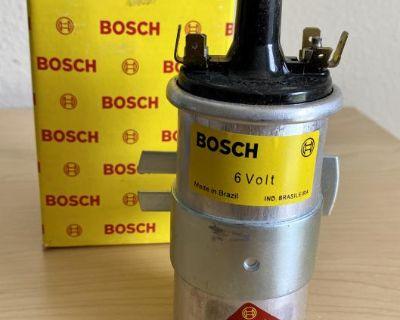 Porsche 356 VW Bug Bus Ghi Ignition Coil Bosch New