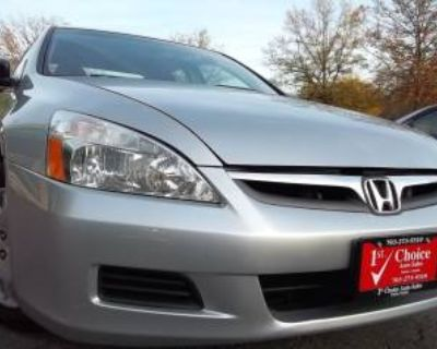 2007 Honda Accord VP Sedan I4 Automatic