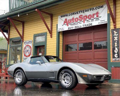 1978 Chevrolet Corvette 1978 Silver Anniversary L82 4K Org Miles!