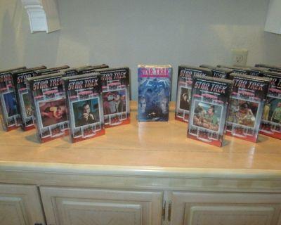 "1980s ""STAR TREK"" – Vintage Original TV Series VHS Tapes"