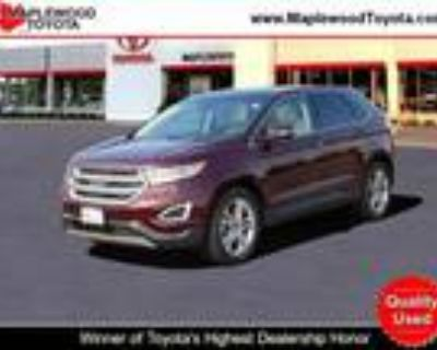 2018 Ford Edge Red, 20K miles