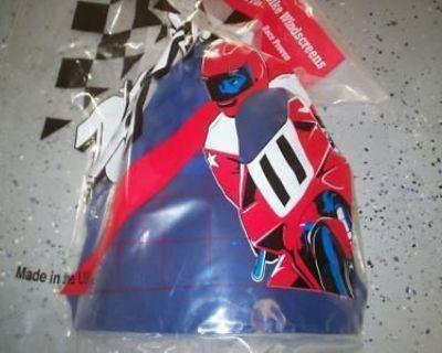 Zero Gravity Sr Windscreen Yamaha Yzf R1 04-06 Blue