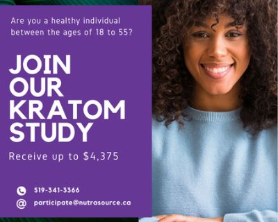 Research Study Participant - Start as early as 29September2021