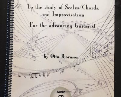 Guitar instruction Book, Free shipping in Canada