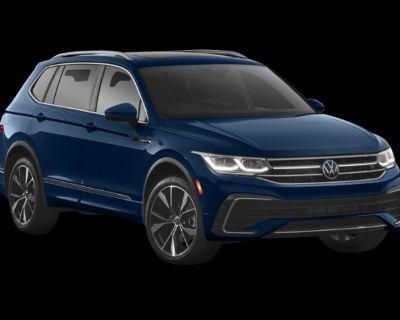 New 2022 Volkswagen Tiguan 2.0T SE 4Motion