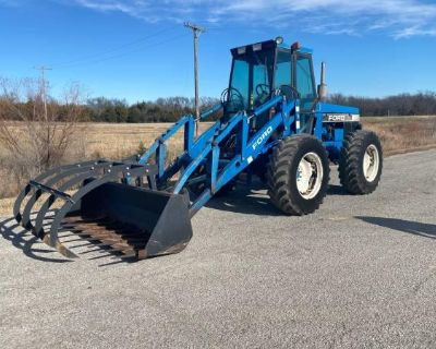 Ford 9030 Bi-Directional Tractor with Cab and Loader