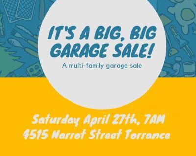 Multi-family Garage Sale Saturday April 27th 7AM