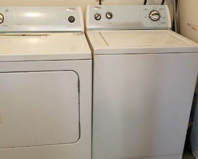 NICE WASHER AND DRYER