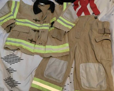 Firefighter size 3-4 costume