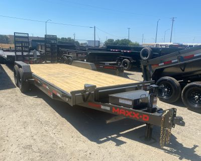 2021 MAXXD TRAILERS 83x20 14k C6X EQUIPMENT TRAILER Trailer - Utility Elk Grove, CA