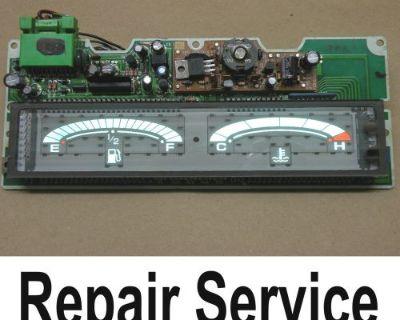 94 95 96 Honda Prelude Gas Fuel Temperature Gauge Cluster Screen Repair Service
