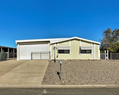 Bullhead City Home w/ Fire Pit - Walk to CO River! - Holiday Shores