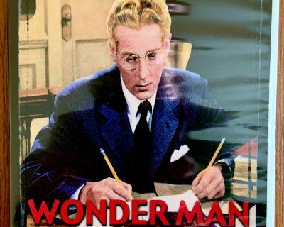 """Wonder Man"" Dvd- Danny Kaye, 1945 (Mail It? PAYPAL It!-CLINK. Link)"