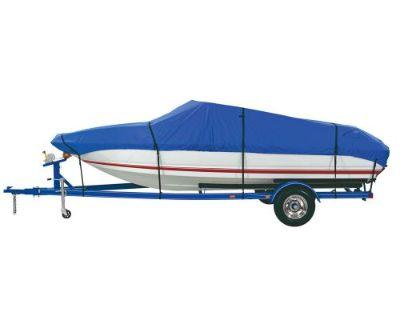 Dallas Manu Co. #bc3201a - Custom Grade Polyester Boat Cover A - 14-16 Ft V-hull