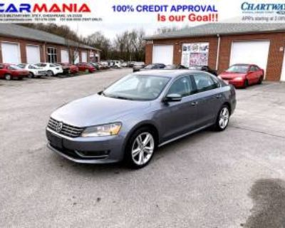 2015 Volkswagen Passat TDI SE with Sunroof DSG