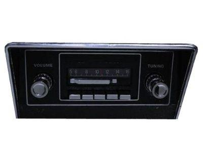 1969-1973 Mustang Radio Am/fm Slidebar Custom Autosound Cam-lm-sbr