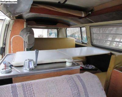 1968-1979 vw westfalia bus interior