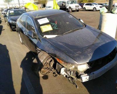 Salvage Gray 2009 Acura Tsx