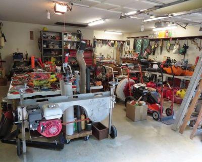 Tools, Guns, Le Crueset, 3 Story House and 2 Car Garage Packed FULL!