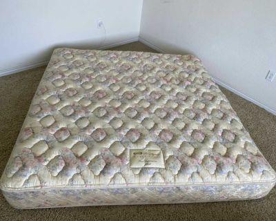 King size mattress set