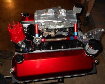 565 Big Block Chevy Pro Street, Drag Car Or Jet Boat Engine 700 Hp On Pump Gas!