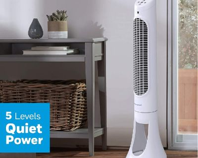 NEW Honeywell Quiet Set Tower Fan w/ remote control. NEW! $80.